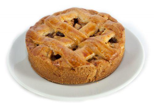 Kleine appeltaart voor 4 personen