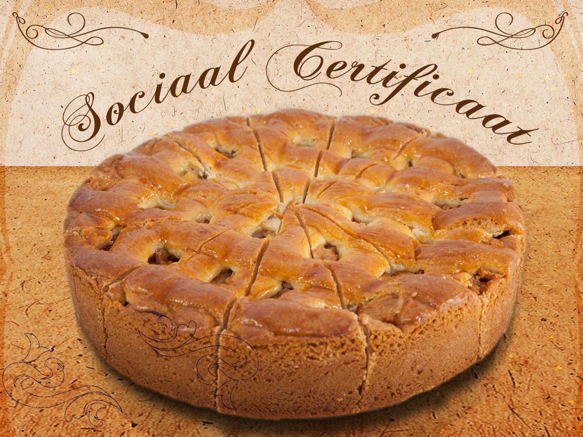 sociale certificaten appeltaarten