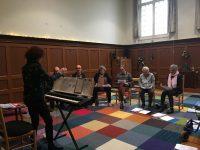 zingen in het klooster