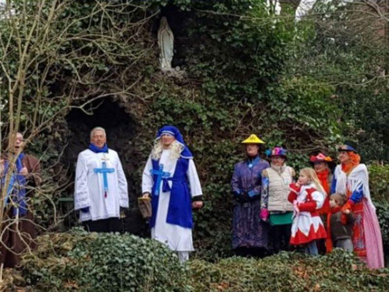 carnavalswandeling klooster